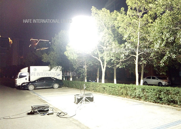 HMI Led Tripod Construction Work Lights , 2400W Big Area Construction Site Stand Lamp Lights
