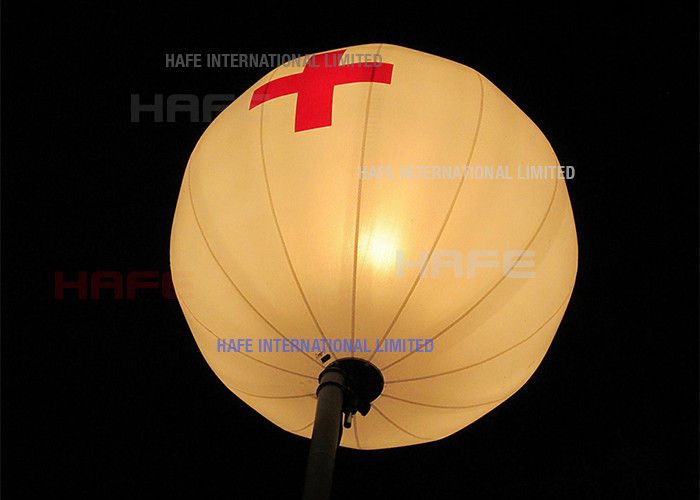 M1 Rated 1.6m Flame Retardant Lighting Colored Balloons Fit Event Decoration