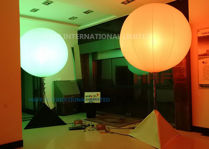 400W Inflatable Lighting Decoration RGBW Air Inflated Balloon Built In Fan